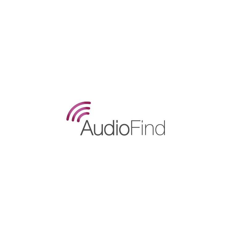 עיצוב לוגו audiofind סטארט אפ | ליאור דקל ליבה logo design by leeor dekel liba